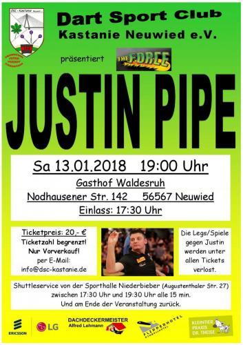 Plakat Justin Pipe