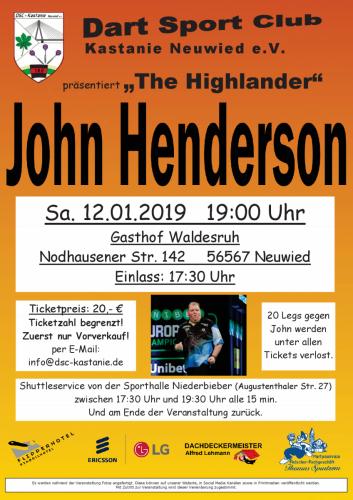 Plakat John Henderson